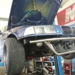 Przygotowanie auta do pierwszych zawodów w Toruniu