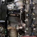 Dzięki naszemu adapterowi turbo pasuje na oryginalny kolektor T-JET / MA, nawet w tak ciasnej komorze jaką jest komora A595