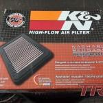 Przy okazji wkład filtra powietrza K&N