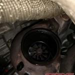 Niestety w poprzednim turbo puściło uszczelnienie. Wymieniamy