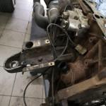 Silnik dotarł w częściach