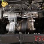 Chłodnica oleju na miejscu, czas na montaż turbo