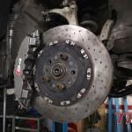Hamulce z RS4 zamontowane