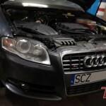 Audi poskładane, można docierać silnik