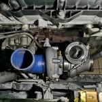 Przymiarka nowego turbo